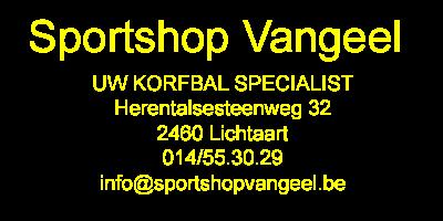Sportshop Vangeel